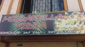 se  vende pizzeria