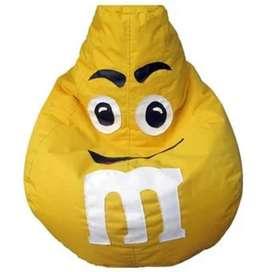 Puff Pera Personalizado L - Amarillo