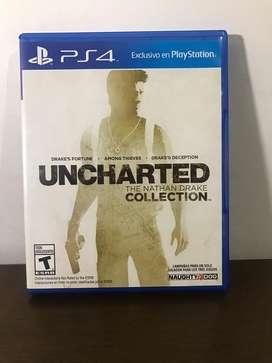 Juego de PS4 en perfecto estado, exclusivo de PS4  (3 juegos en 1)