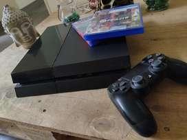PS4 + 1 control y 2 juegos