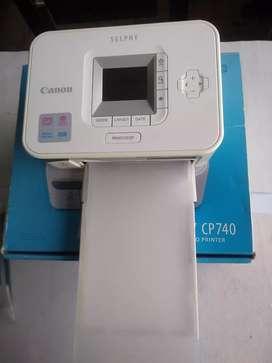 Vendo impresora canon 740