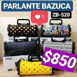 Parlante Only Bazoka Bluethoot