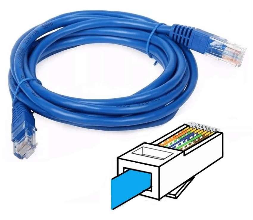 Cable De Red Utp Cat 5 De 5 Metros Internet