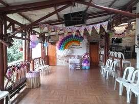 Salon campestre para eventos