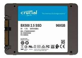 Unidad SSD 960GB CRUCIAL