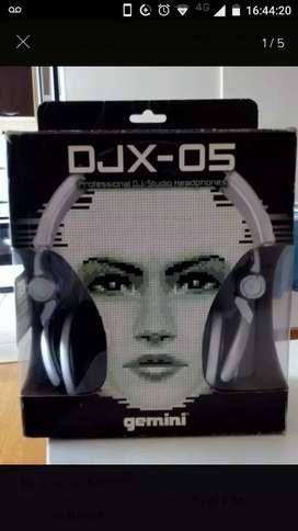 Auriculares profesionales Gemini djx 05