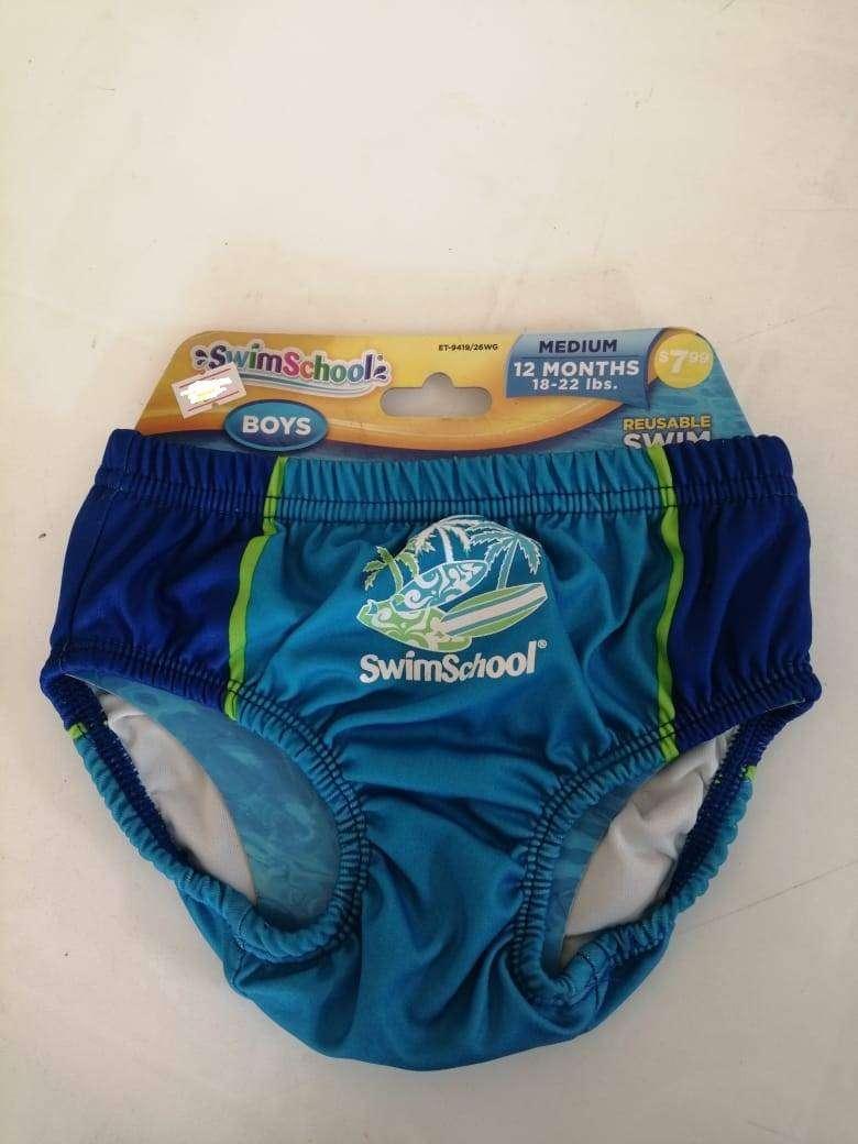 Traje De Baño Para Bebe Pantaloneta Americana Swim School 0