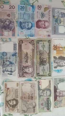 Vendo billetes