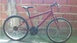 bicicleta montañera rin 24 sin cambio en buenas condiciones