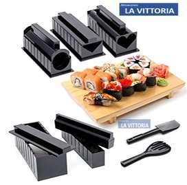 Moldes de Rollos de Sushi con Varios Accesorios