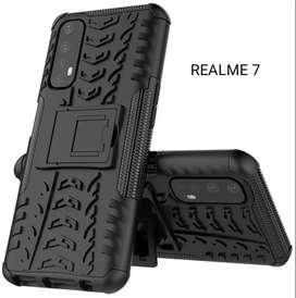 Estuche Forro Case tipo armadura Antigolpes REALME 6 7 7i Pro