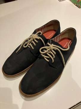 Zapatos azules casuales