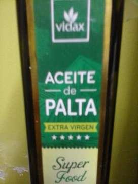 ACEITE DE PALTA DE 250 ML OFERTA