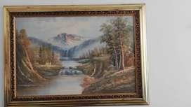 Pintura óleo sobre lienzo para sala o comedor