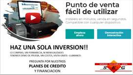 P.O.S, Punto de Venta, Software pos, POS, Registradora, Credito, Facturacion electronica, mensualidad