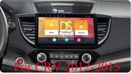 Radio Tipo Original Android Honda CRV 2012