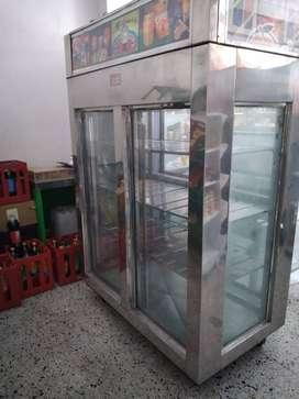 Congelador Vertical dos puertas
