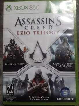 Cambio colección de Assassins Creed original para xbox360 y juegos originales de play 3