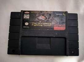 Cartucho Original Mortal Kombat 3 Ultimate Super Nintendo