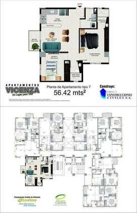 Proyecto Vicenza Apartamentos en venta en copacabana