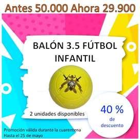 Balones profesionales en promoción