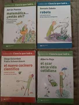 Moron 4 libros La ciencia que ladra/entrego a domicilio zona moron