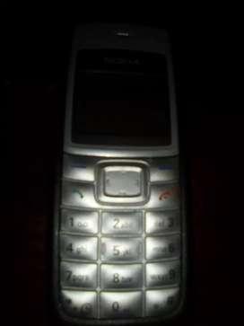 Celular Nokia 1112 reloj parlante