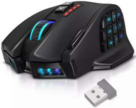 Mouse Gamer Inalambrico 16,000 DPI Ergonomico UtechSmart Venus Pro