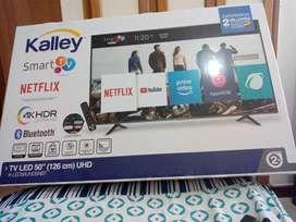 Smart TV 4K de 50 pulgadas kalley