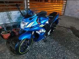 Moto Suzuki modelo Gixxer 155cc