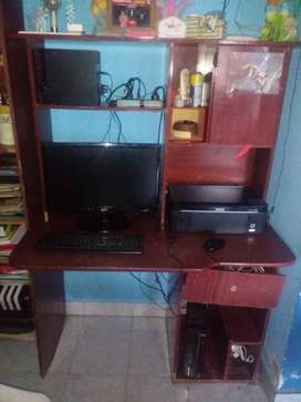 Vendo pc completa con escritorio