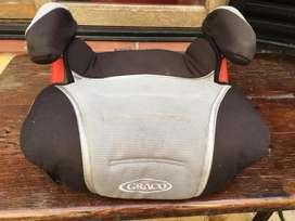 Asiento para niños auto Booster hasta 45 kilos
