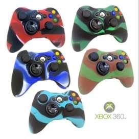 Siliconas Protectoras para Control Xbox 360