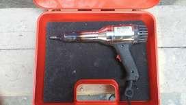 pistola para soldar plásticos  ,lonas . Eléctrica  usada