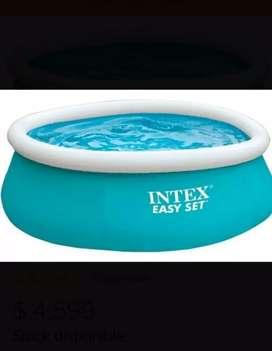 Pileta Inflable Intex 183 X 51 Cms Boya Dosificadora Cloro