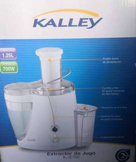 Extractor De Jugo Kalley K-JE 700 1.25 Litros Con Manual