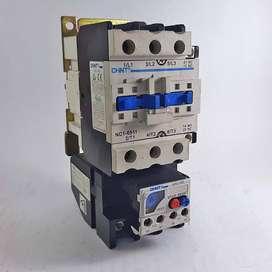 Contactor NC1-65 y Relé térmico NR2-93 CHINT 220V