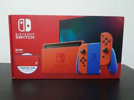 Nintendo switch edición Mario Bros 35th