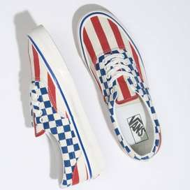 TENIS VANS ERA 95 DX Anaheim Factory Red Stripes Blue Checkers VN0A2RR1VYC--10998