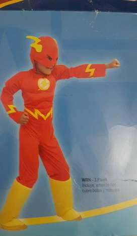 disfraz flash