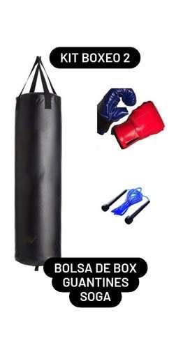 Kit Boxeo II!! EY! Entrenemos