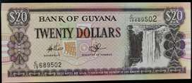 Billete de Guyana, 2006