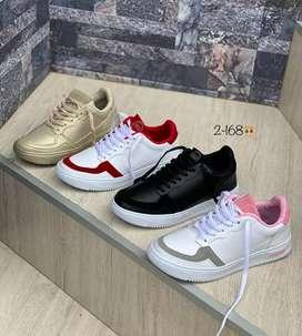 Zapato Tennis Deportivo Adidas Para Mujer