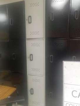 Lockers de 3 puestos