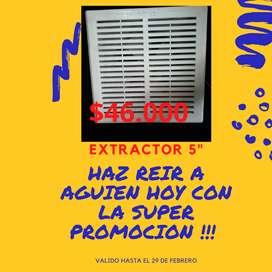 """PROMOCION EXTRACTOR 5"""""""