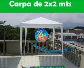 CARPA DE 2X2 METROS BLANCA Importada. Cubierta de Polietileno Domicilios en Cali y Envíos a toda Colombia