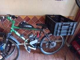 Bicimoto , bicicleta con motor rin 26