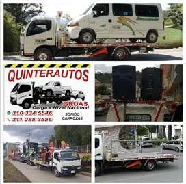 Servicio de grúa sonido, carrozas carga a nivel nacional