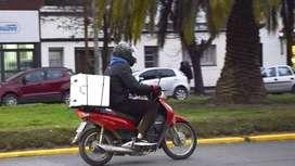 Repartidor / Delivery con Moto Zona Norte San Isidro