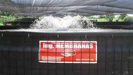 Ing Membranas: tanques, impermeabiliaciones, montaje de proyectos piscicolas